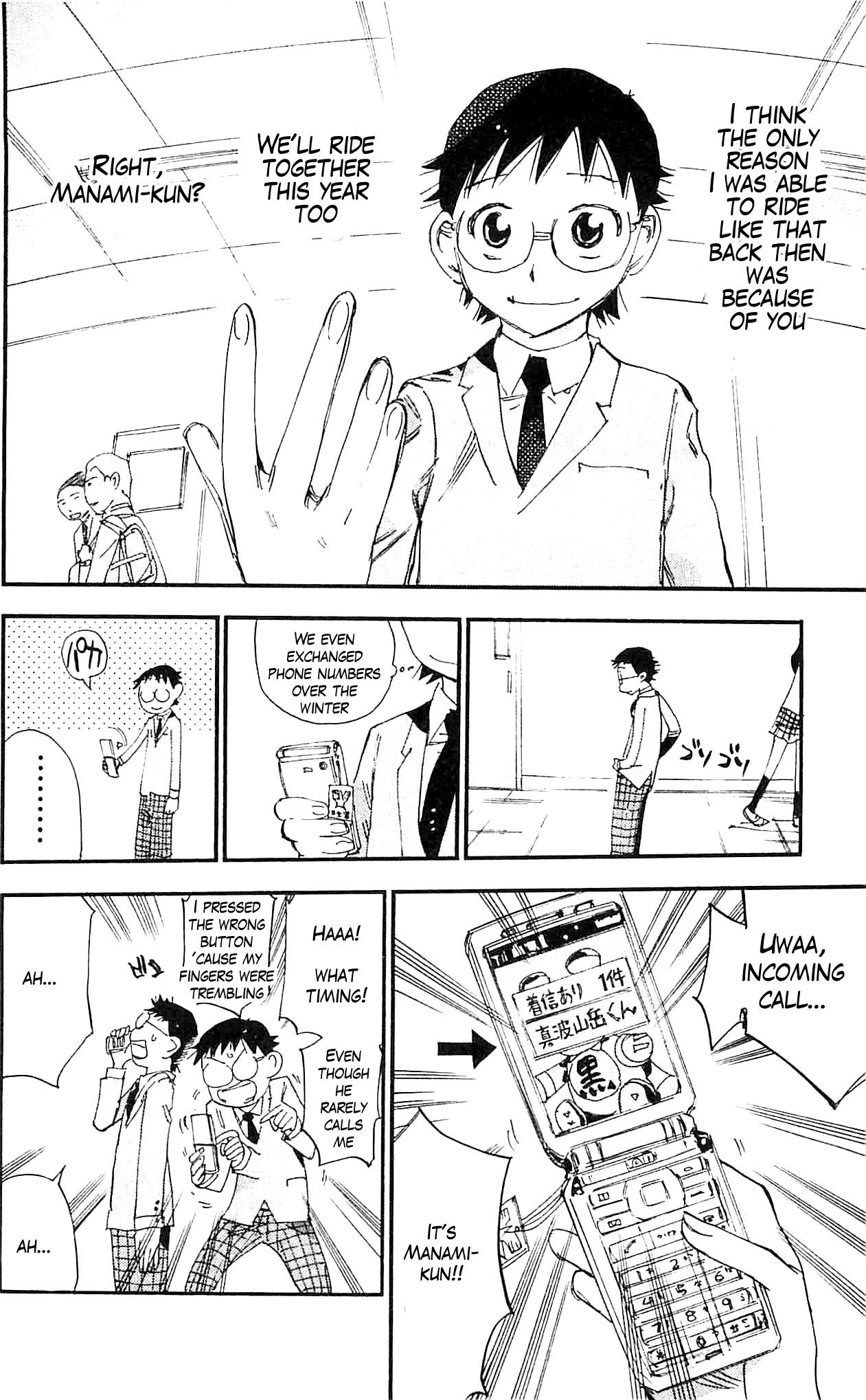 Yowamushi Pedal - Chapter 291