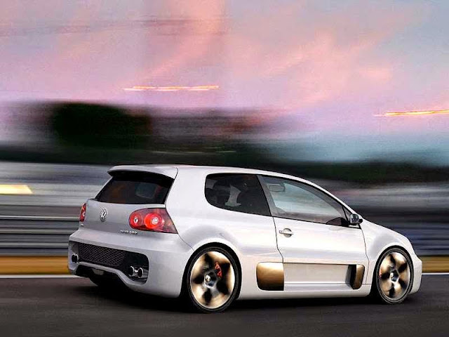 VW Golf GTI racing