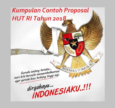 Download Kumpulan Contoh Proposal HUT RI Tahun 2018