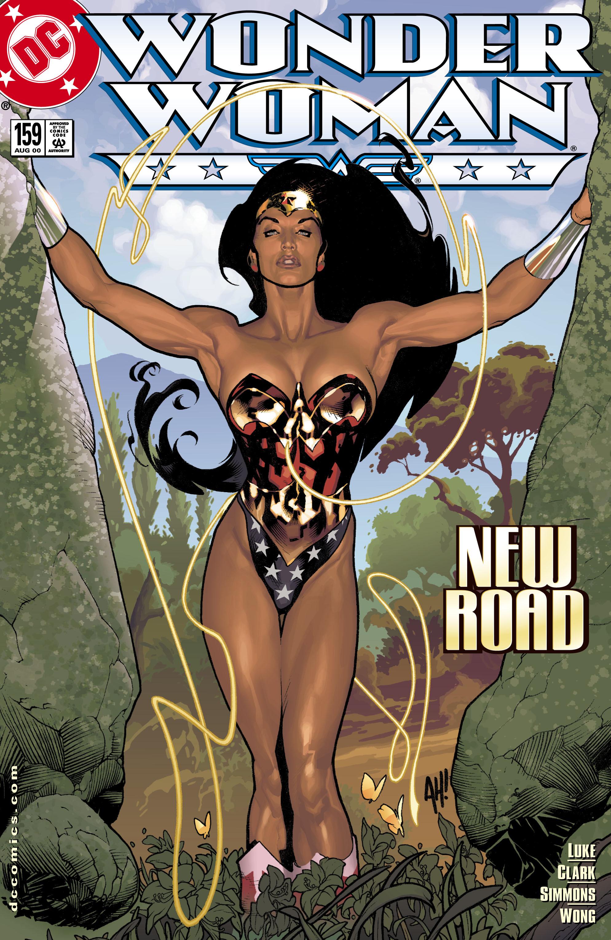 Read online Wonder Woman (1987) comic -  Issue #159 - 1