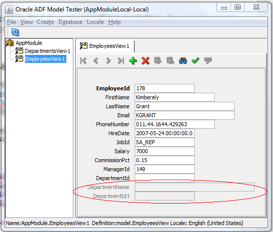Oracle ADF/JDeveloper/Java: ADF BC View Objects