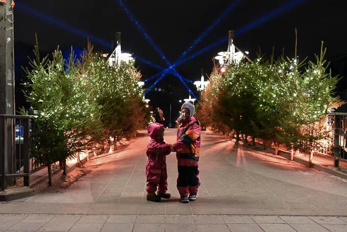 satusilta turku, teatterisilta, lasten joulu turku, joulun satumaa