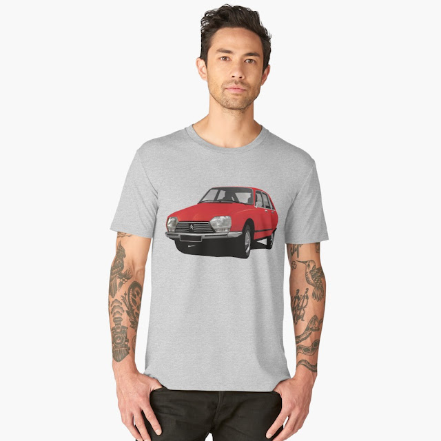 Vingate Citroën GS t-shirt