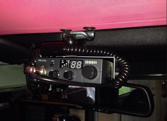 Installing The Uniden CB Radio (1987-2017 Wrangler YJ, TJ, JK) on 2017 Jeep Wrangler