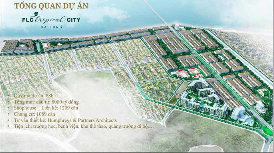 Tổng quan liền kề Flc Tropical City Hà Khánh Hạ Long