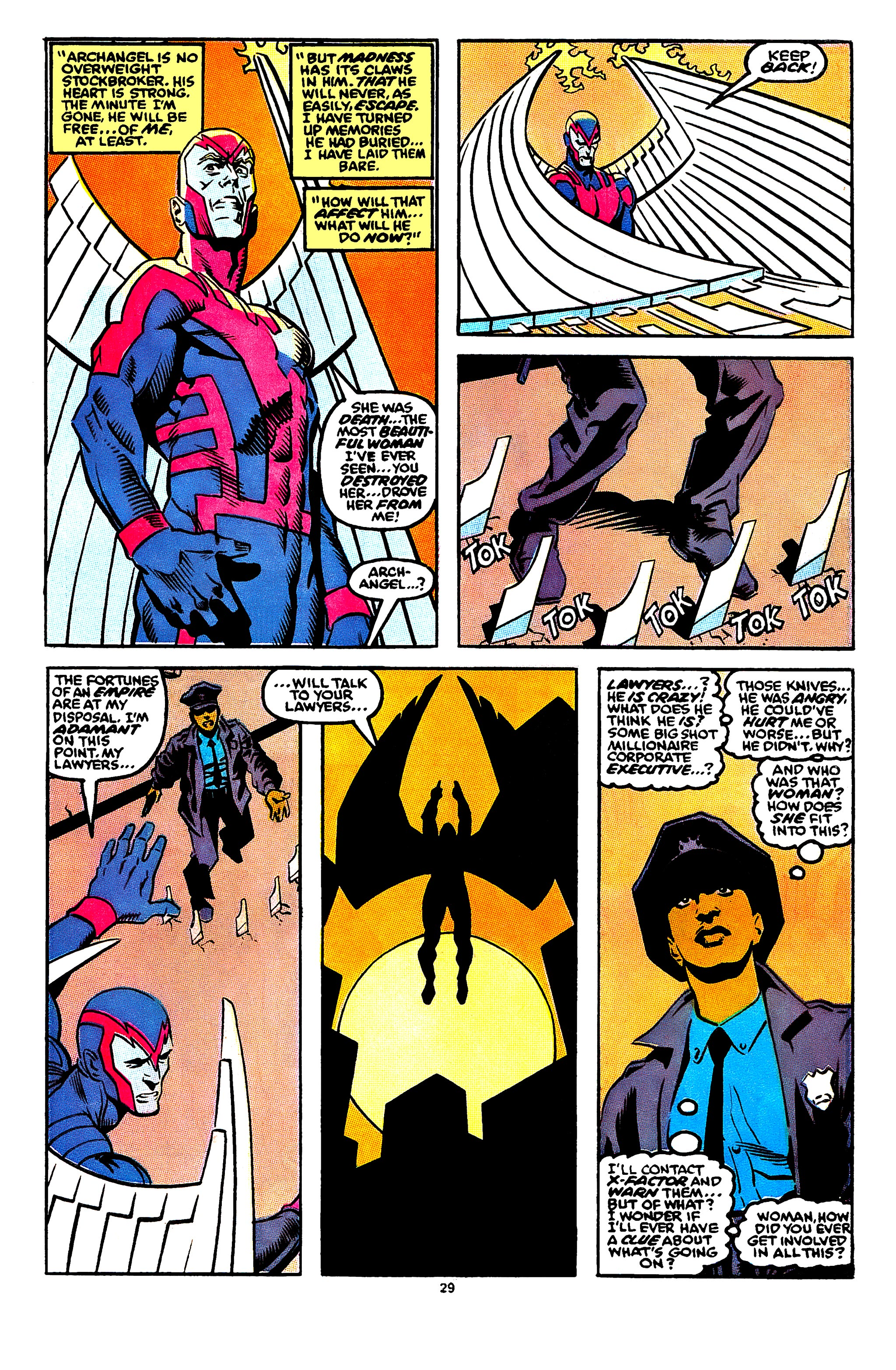 Read online X-Factor (1986) comic -  Issue #56 - 23