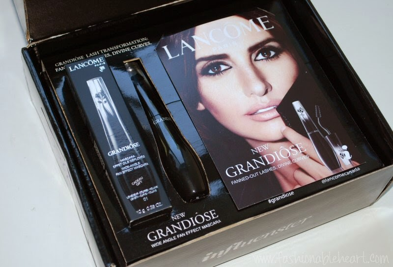 Fashionable Heart | Lancome Grandiose Mascara