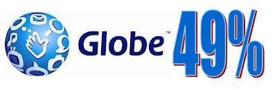 Globe Telecom 49 % increase