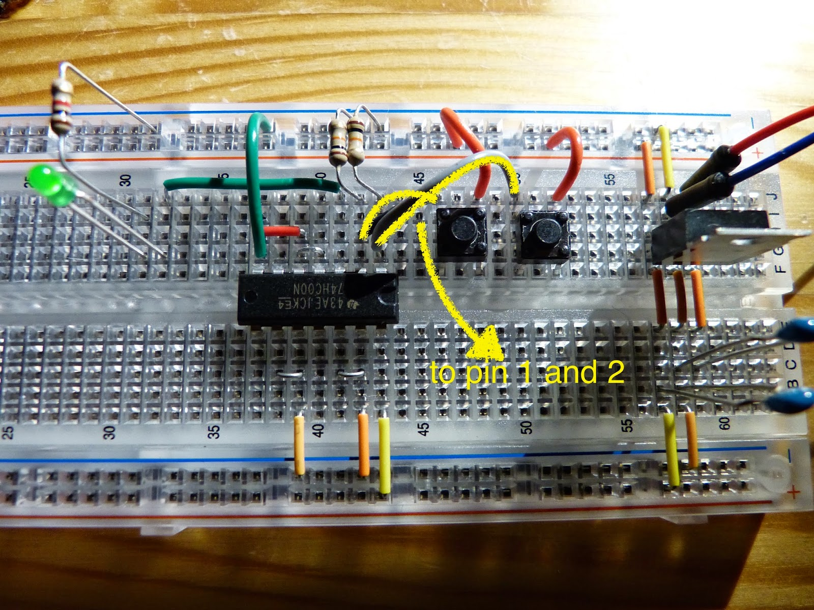 Electronics Page 4 Homehack Learn To Build The Atari Punk Console Electronic Circuits With 74hc00 Nand Chip