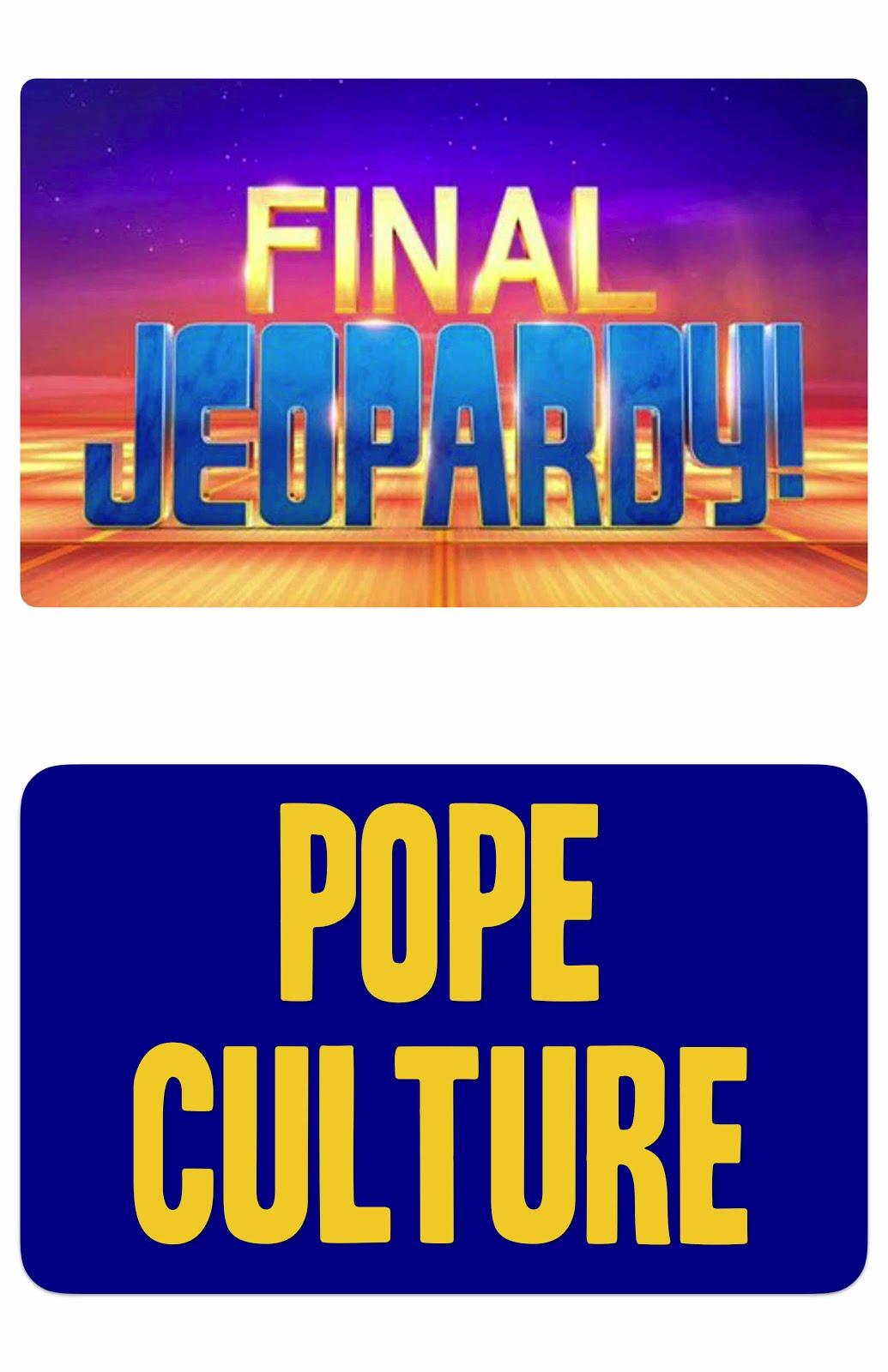 Father David Jenuwine: Jeopardy @ St. Apollinaris Parish ...