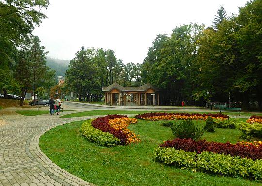 Rymanów-Zdrój. Park Zdrojowy.