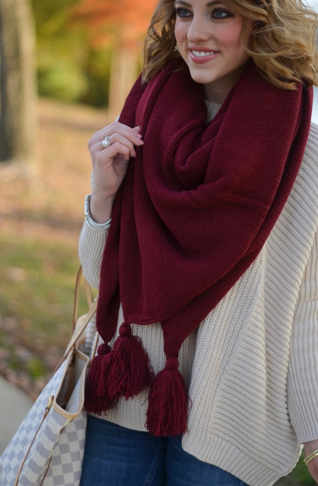 Scarf Style - Something Delightful Blog