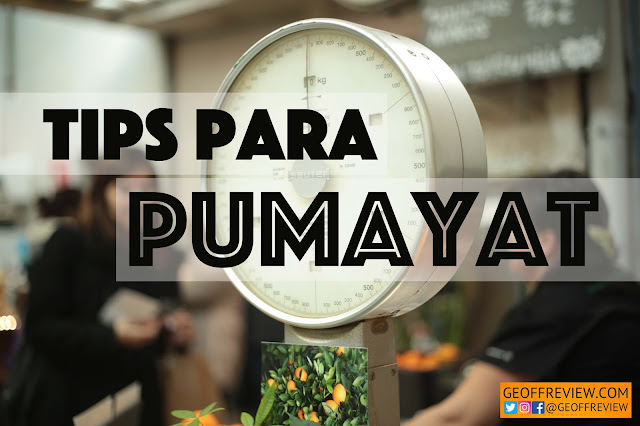 Tips Para Pumayat