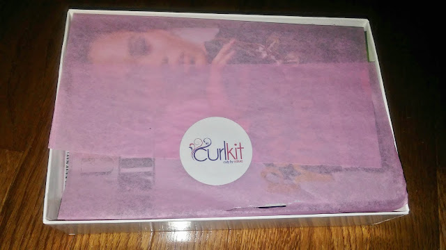 CurlKit November 2017 Review Natural Hair Subscription box
