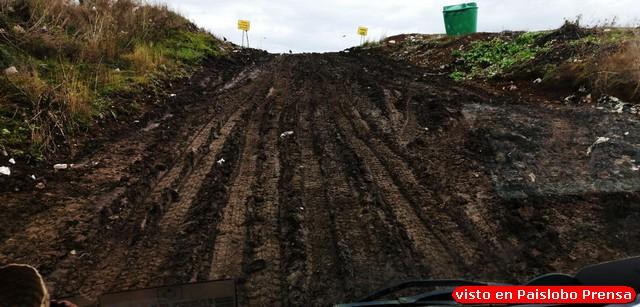 Vídeo y fotos muestran peligroso acceso a vertedero en Osorno