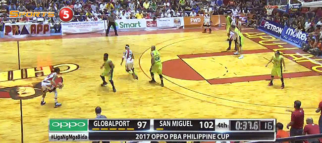 San Miguel def. GlobalPort, 106-100 (REPLAY VIDEO) January 21