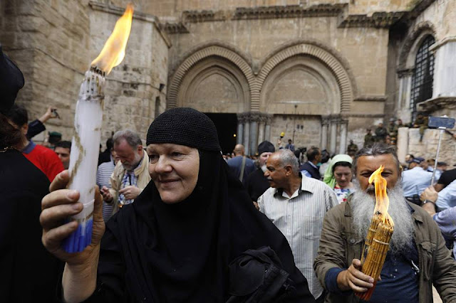 'Holy Fire' ceremony held in Jerusalem for Easter