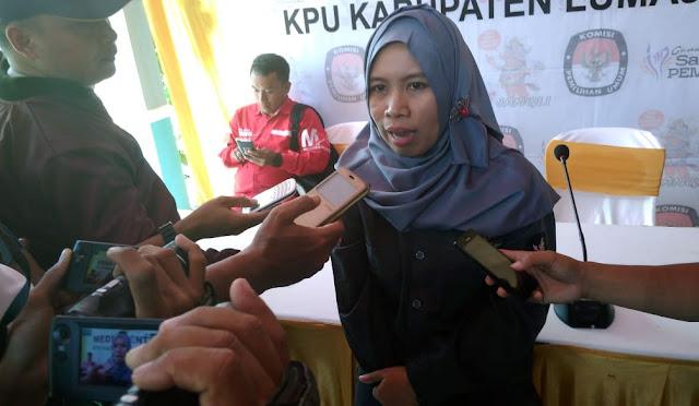 Ketua KPU Lumajang Siti Mudawiyah
