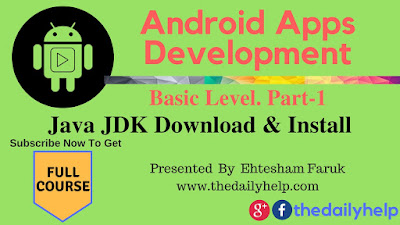 Java JDK Download And Install