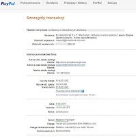MateBux - dowód wypłaty 2017