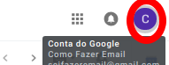 Como desconectar do e-mail do GMAIL pelo computador
