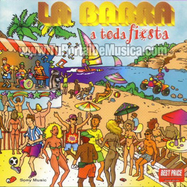 La Barra - A Toda Fiesta (1998)