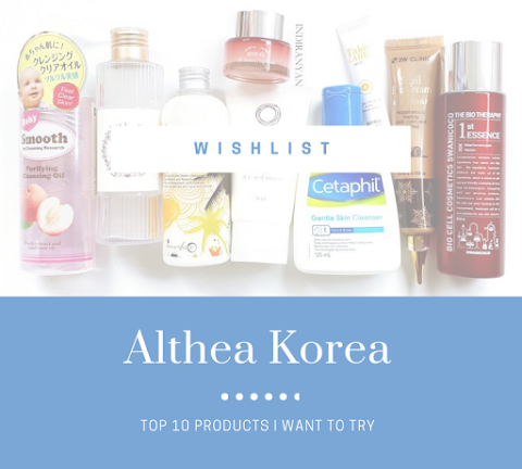 [WISHLIST] Must Have Products on Althea Korea