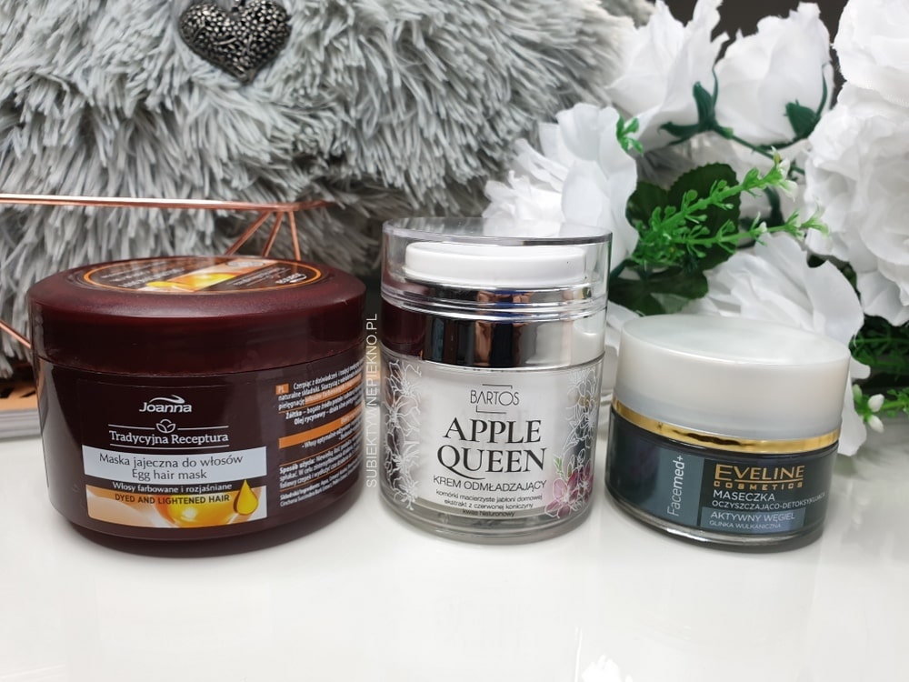 DENKO PAŹDZIERNIK 2018 - maska Joanna, Bartos Apple Queen, Eveline węgiel