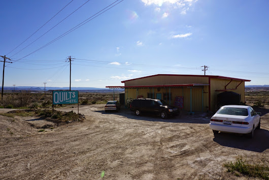 Big Bend and a Quilt Shop