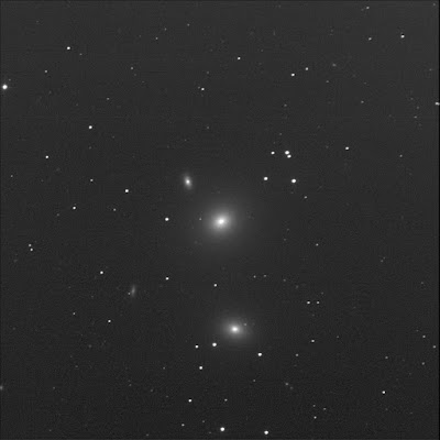 luminance frame by BGO of galaxy NGC 3607 and its neighbours