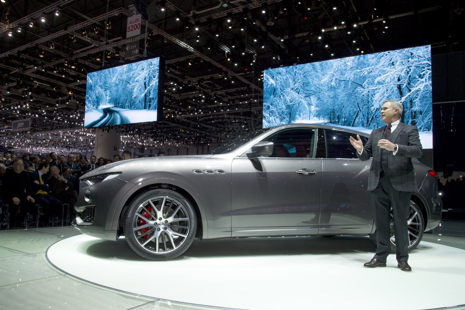 New Maserati Levante Suv Detailed In Geneva Just As