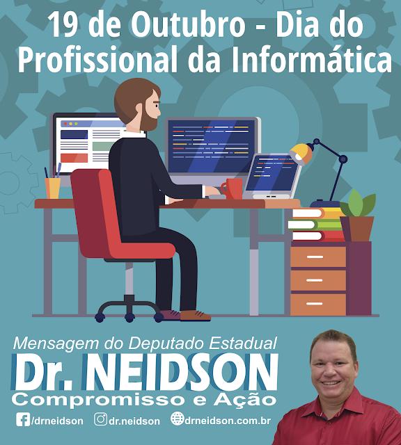 Mensagem do Dr. Neidson ao Dia do Profissional da Informática
