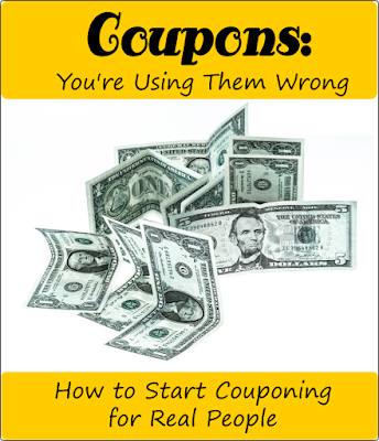 Coupons: You're Using them Wrong -- I used to think coupons were dumb until I figured out how to actually save money using them.  {posted @ Unremarkable Files}