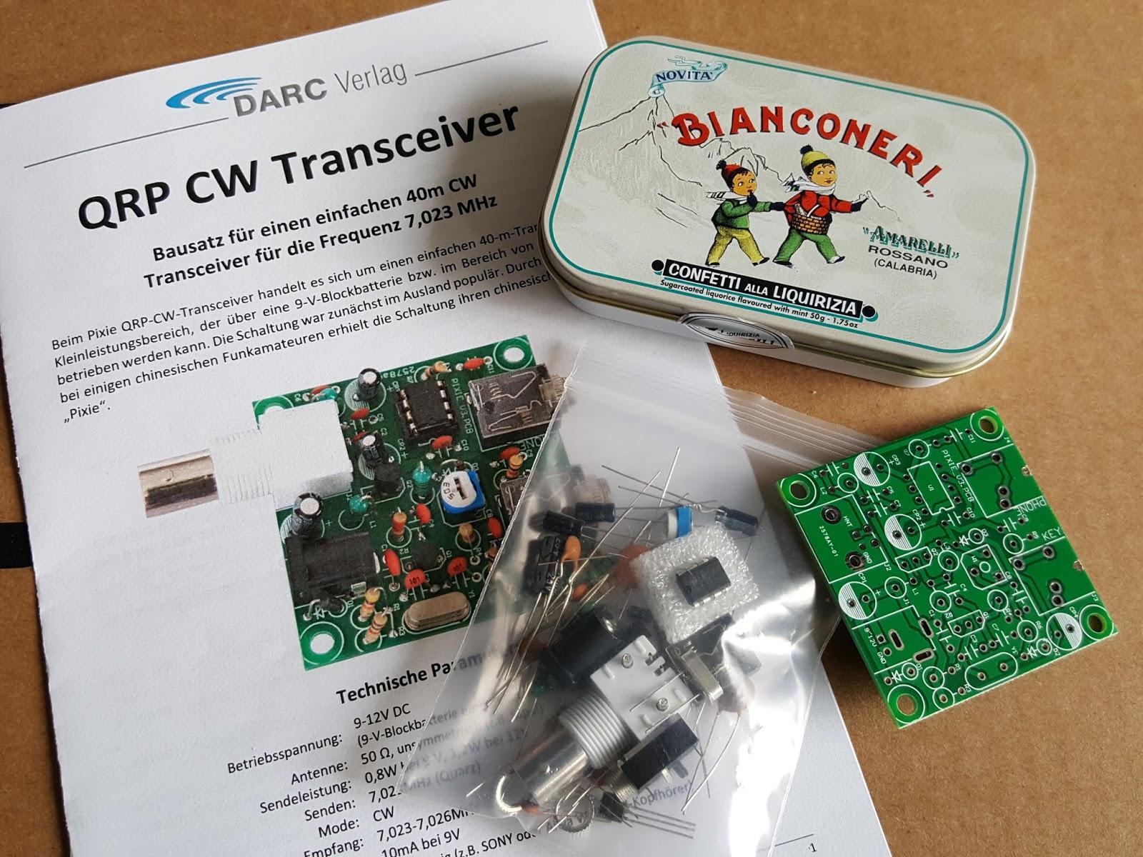 PA7MDJ Amateur Radio Blog: The Pixie QRP CW transceiver