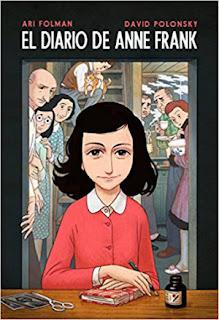 cuentos y libros infantiles juveniles para +8, 12 años el diario de anne frank cómic