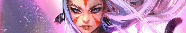 Detail of Art by Ross Tran from ImagineFX Anniversary Cover