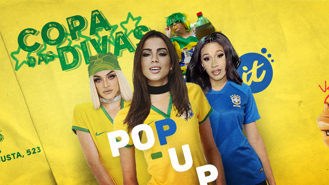 A Pop-up acontece no Lab Club, na Rua Augusta, e como não queremos ver ninguém de fora, vai rolar VIP pra todo mundo até 0h.