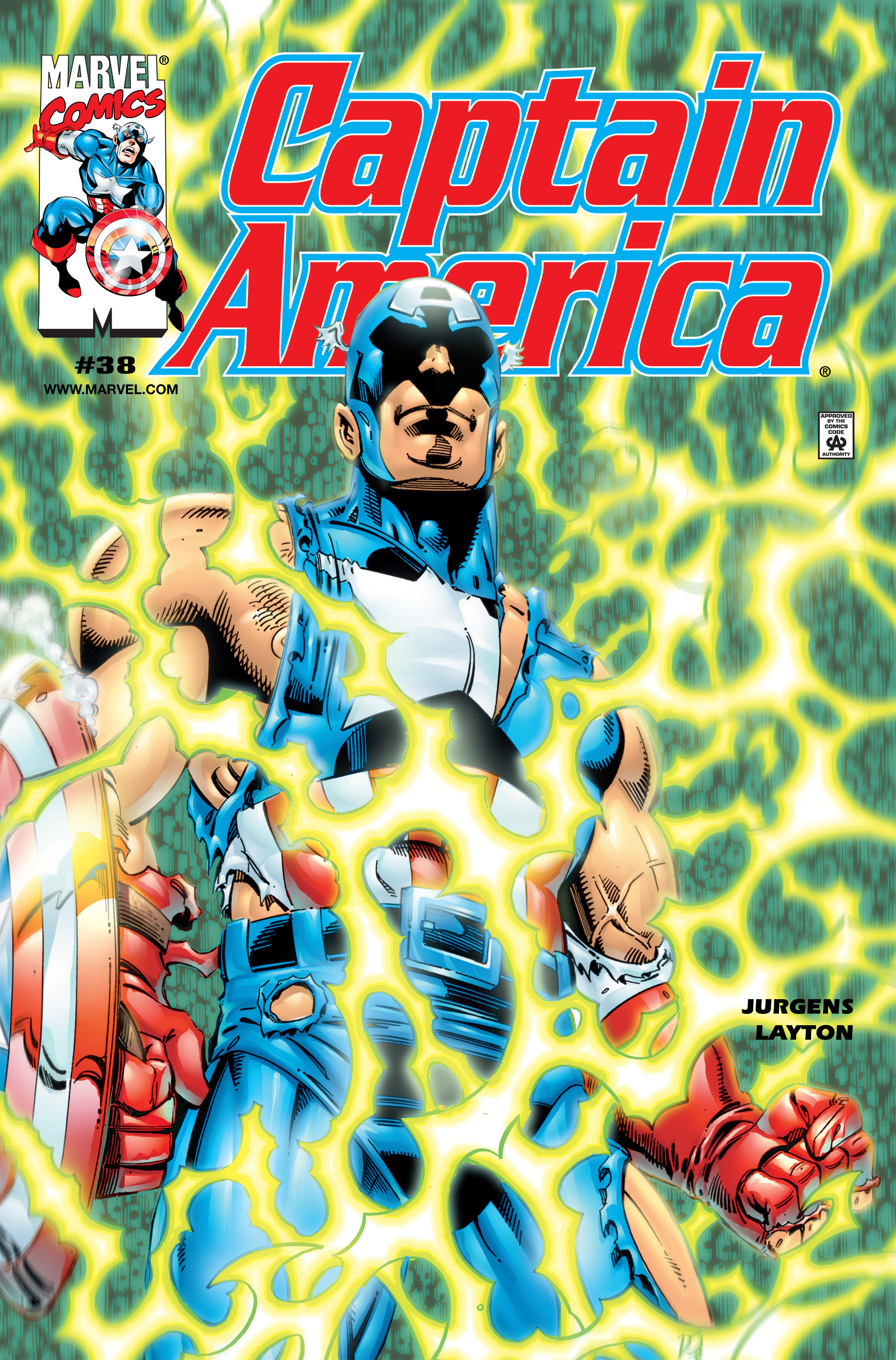 Captain America (1998) 38 Page 1