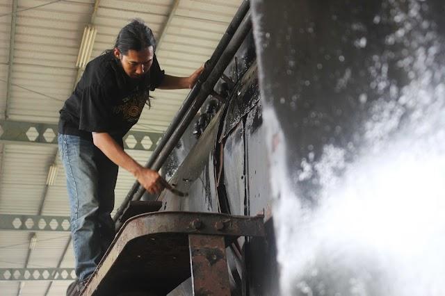 Semangat IRPS melestarikan lokomotif bersejarah