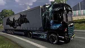 Batman Scania R skin