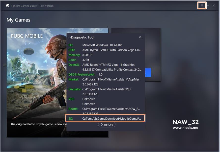 update pubg on tencent emulator