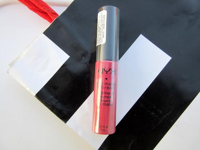 Haul from Sephora Bangalore   NYX soft matte lip cream San Paulo