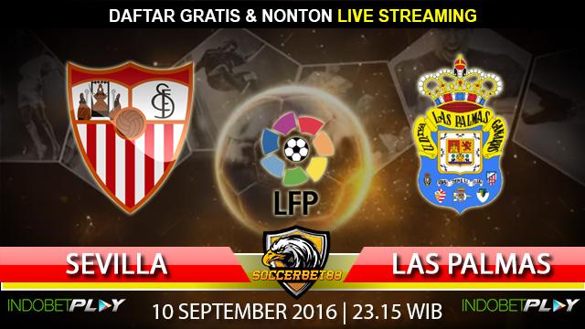 Prediksi Sevilla vs Las Palmas 10 September 2016 (Liga Spanyol)