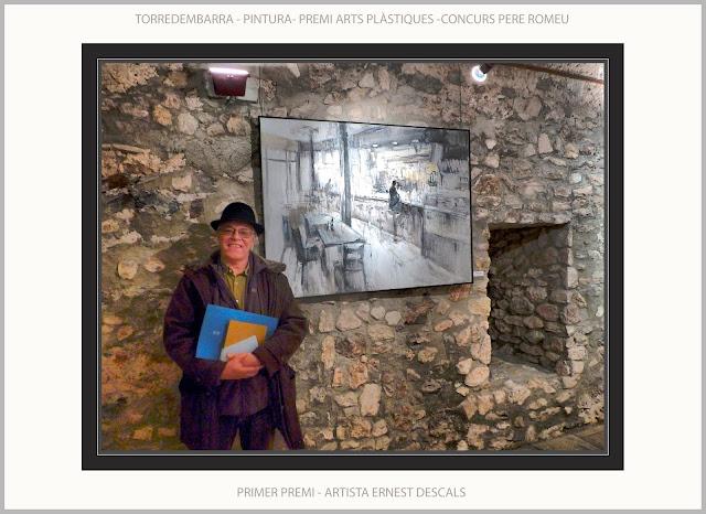 TORREDEMBARRA-PINTURA-CONCURS-PERE ROMEU-ARTS PLÀSTIQUES-CONCURSOS-CATALUNYA-ARTISTA-PINTOR-ERNEST DESCALS-