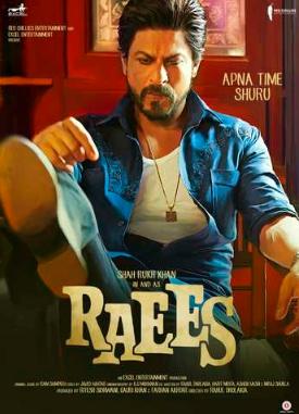 Raees 2017 Hindi 720p DVDScr Mafiaking 1.1GB