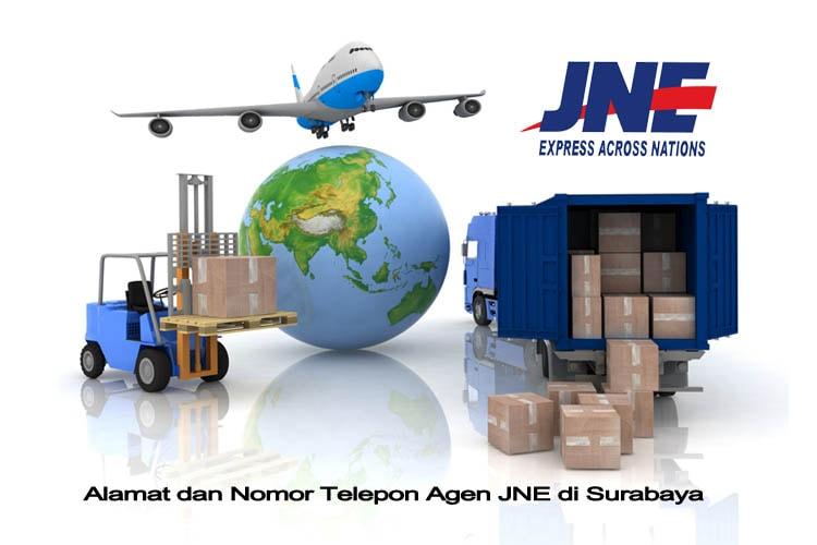 JNE Juanda dan Seluruh Surabaya