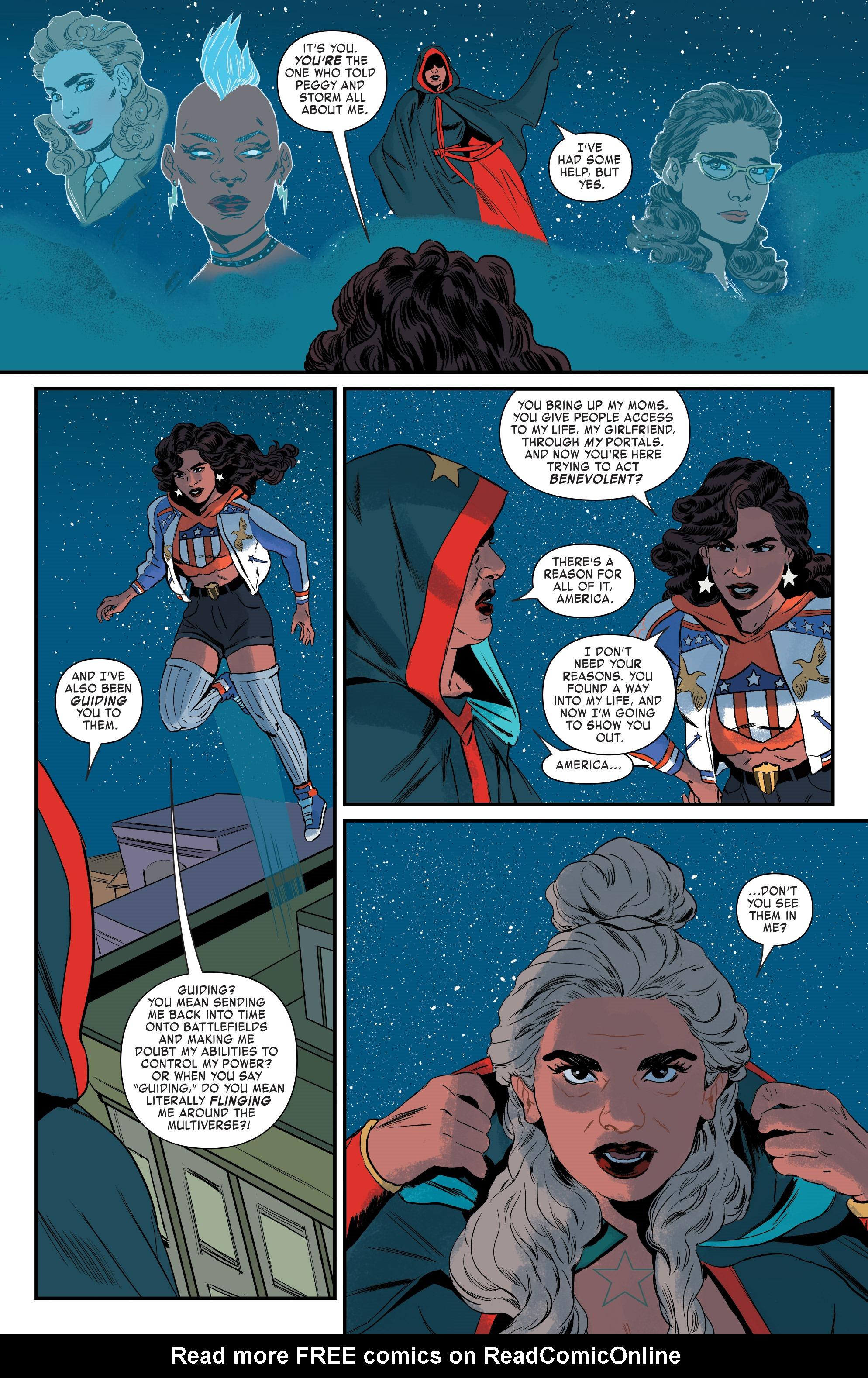 Read online America (2016) comic -  Issue #4 - 19