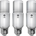 In a back-to-the-future move, GE's Current offers fluorescent tubes, bulbs, LEDs