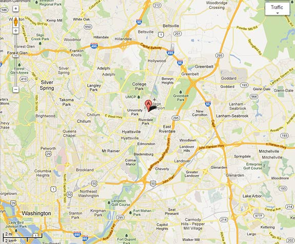 Map Of Maryland State Map Of USA - Maryland city map