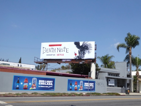 Death Note Netflix billboard